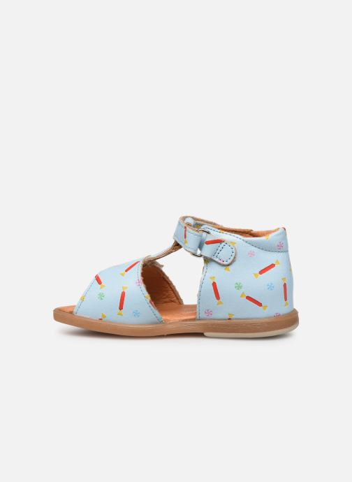 Sandales et nu-pieds Babybotte Tenessan x SARENZA Bleu vue face