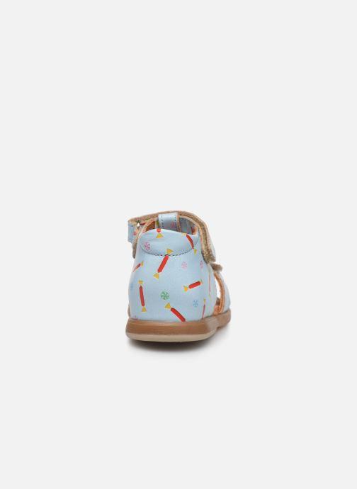 Sandales et nu-pieds Babybotte Tenessan x SARENZA Bleu vue droite