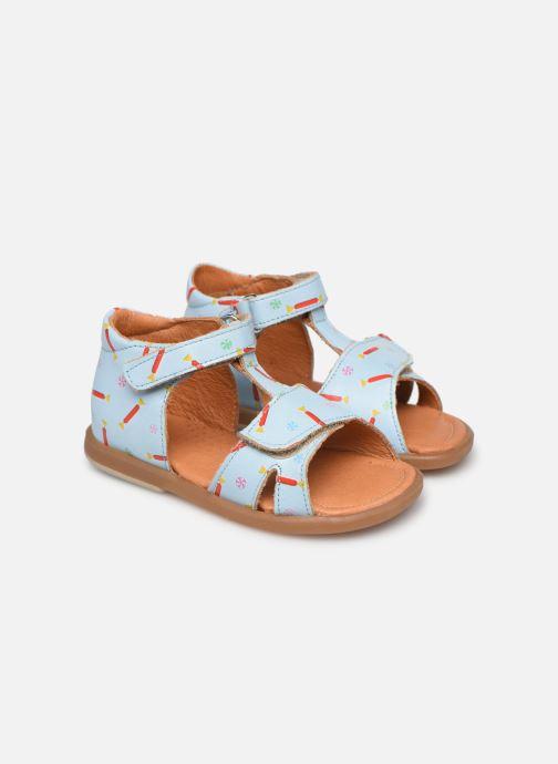 Sandales et nu-pieds Babybotte Tenessan x SARENZA Bleu vue détail/paire