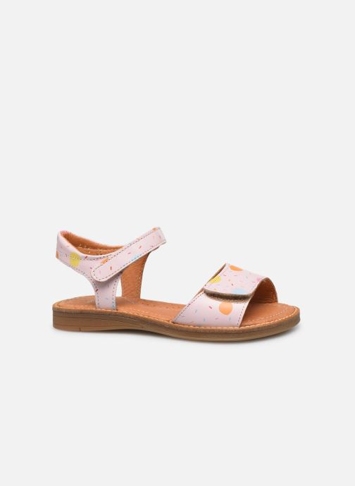 Sandales et nu-pieds Babybotte Kokotiersan x SARENZA Rose vue derrière