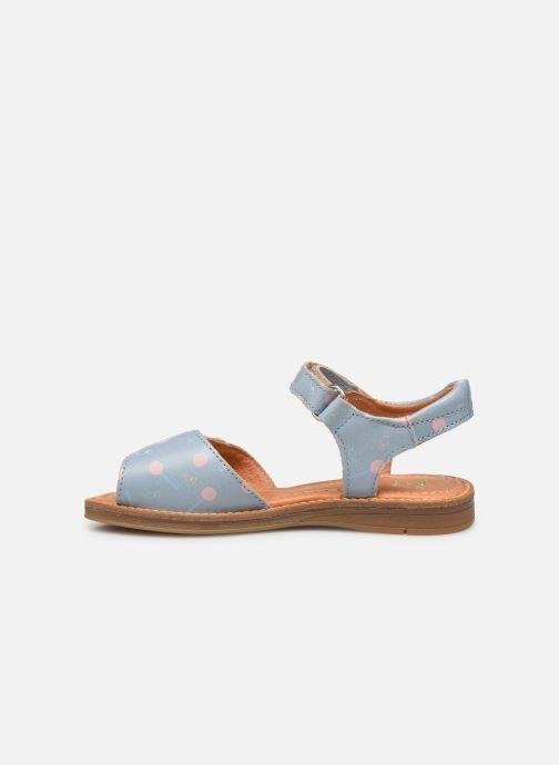 Sandali e scarpe aperte Babybotte Kokotiersan x SARENZA Azzurro immagine frontale