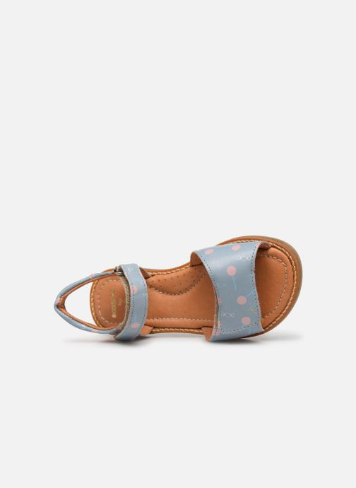 Sandali e scarpe aperte Babybotte Kokotiersan x SARENZA Azzurro immagine sinistra