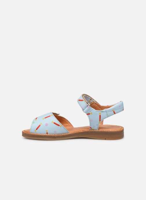 Sandalen Babybotte Kokotiersan x SARENZA Blauw voorkant