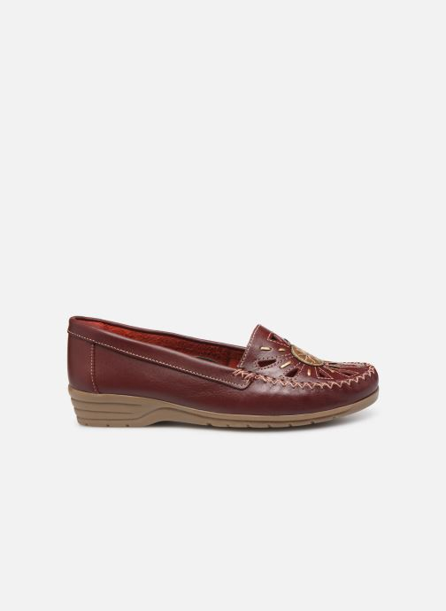 Loafers Pédiconfort Laura Largeur Confort C Burgundy back view
