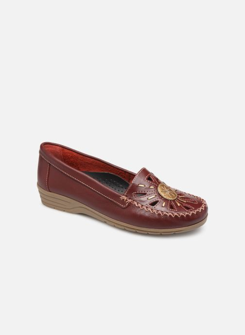 Loafers Pédiconfort Laura Largeur Confort C Burgundy detailed view/ Pair view