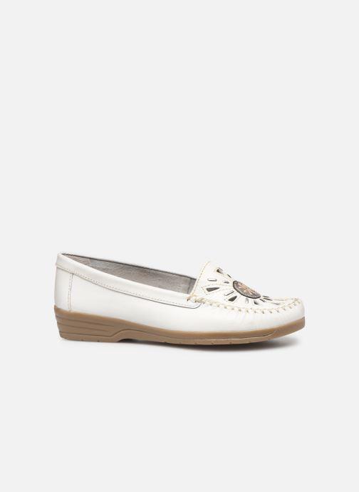Loafers Pédiconfort Laura Grande Largeur C White back view