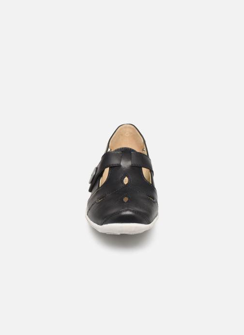 Ballerines Pédiconfort Salomé C Noir vue portées chaussures