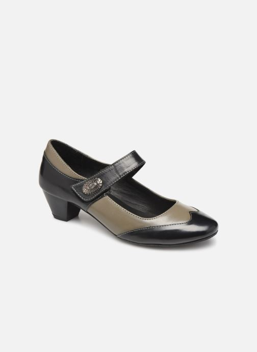 High heels Pédiconfort Cyrielle C Grey detailed view/ Pair view