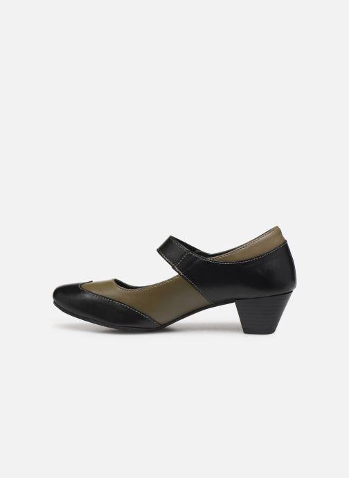High heels Pédiconfort Cyrielle C Black front view