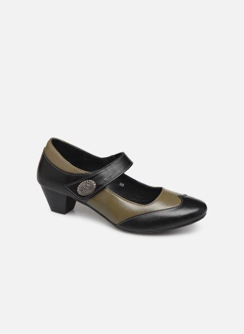 High heels Pédiconfort Cyrielle C Black detailed view/ Pair view