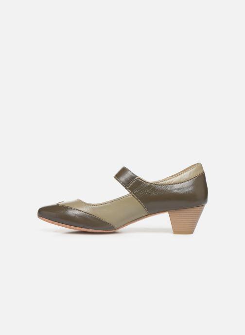 High heels Pédiconfort Cyrielle C Grey front view