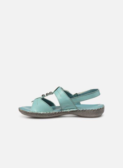 Sandali e scarpe aperte Pédiconfort Manon C Azzurro immagine frontale