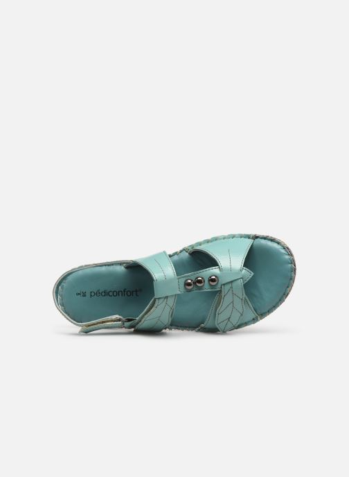 Sandali e scarpe aperte Pédiconfort Manon C Azzurro immagine sinistra