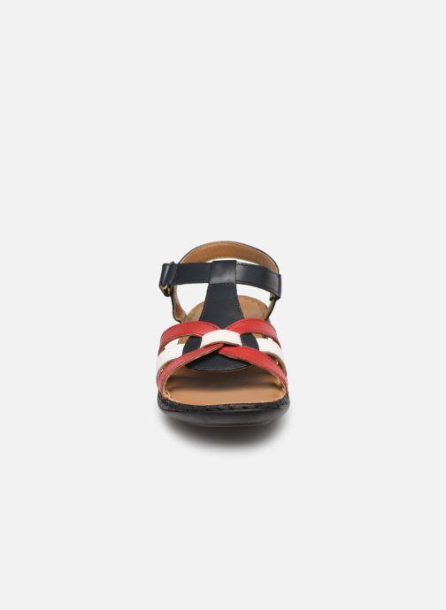 Sandales et nu-pieds Pédiconfort Camille C Multicolore vue portées chaussures