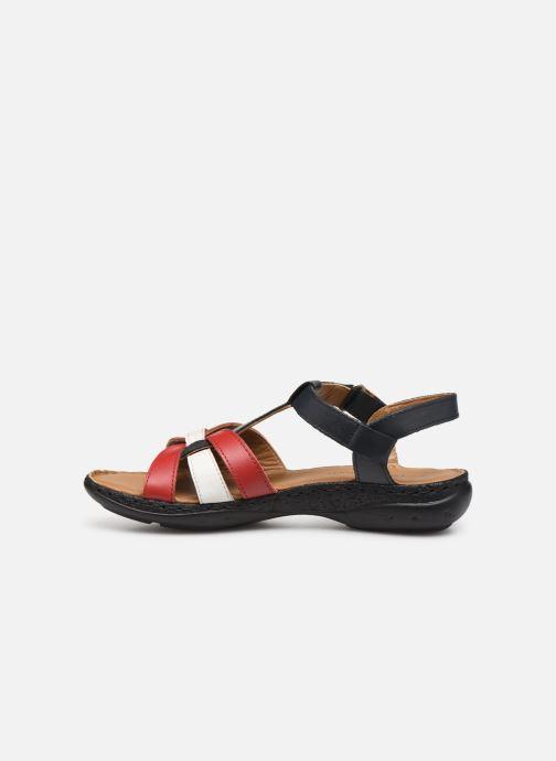 Sandales et nu-pieds Pédiconfort Camille C Multicolore vue face