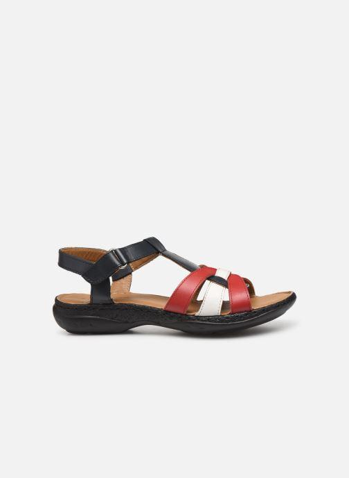 Sandales et nu-pieds Pédiconfort Camille C Multicolore vue derrière