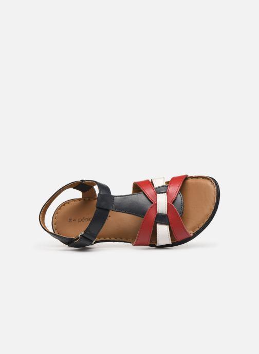 Sandales et nu-pieds Pédiconfort Camille C Multicolore vue gauche
