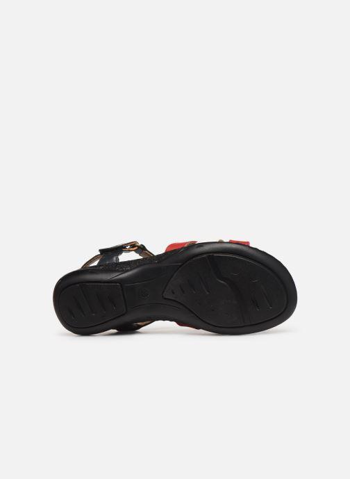 Sandales et nu-pieds Pédiconfort Camille C Multicolore vue haut