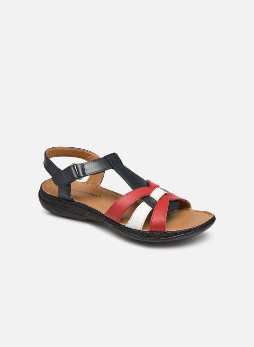 Sandales et nu-pieds Pédiconfort Camille C Multicolore vue détail/paire