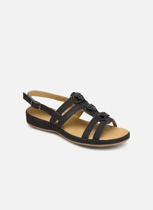 Sandals Pédiconfort Margaux C Black detailed view/ Pair view