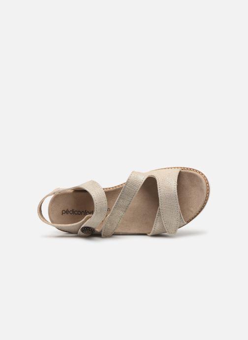 Sandales et nu-pieds Pédiconfort Lamie C Beige vue gauche