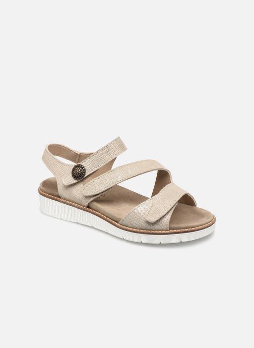 Sandales et nu-pieds Pédiconfort Lamie C Beige vue détail/paire