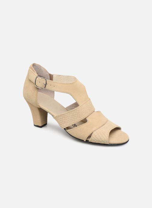 Sandales et nu-pieds Pédiconfort Anis C Beige vue détail/paire