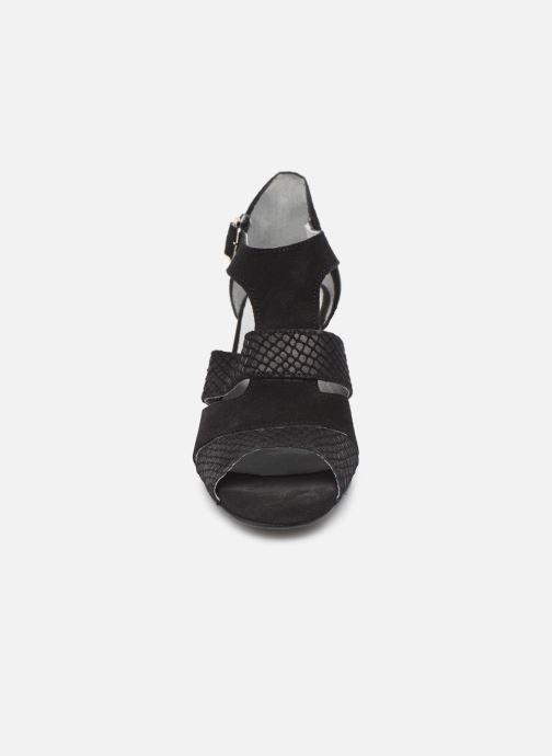 Sandales et nu-pieds Pédiconfort Anis C Noir vue portées chaussures