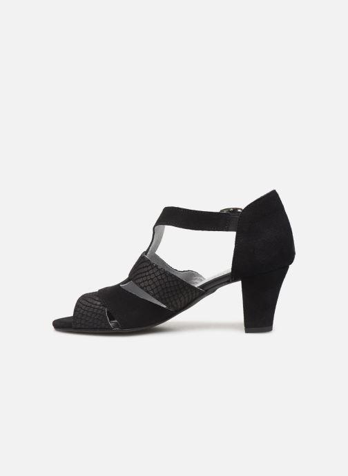 Sandales et nu-pieds Pédiconfort Anis C Noir vue face