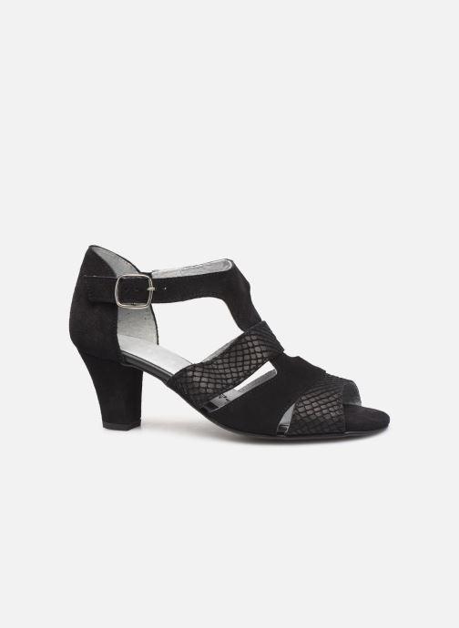 Sandales et nu-pieds Pédiconfort Anis C Noir vue derrière