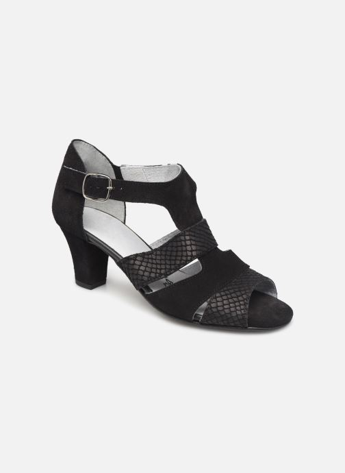 Sandales et nu-pieds Pédiconfort Anis C Noir vue détail/paire