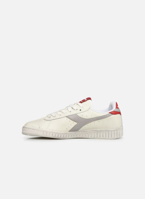 Sneakers Diadora GAME L LOW WAXED W Wit voorkant