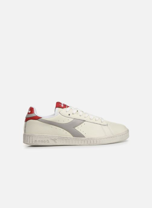 Sneakers Diadora GAME L LOW WAXED W Wit achterkant
