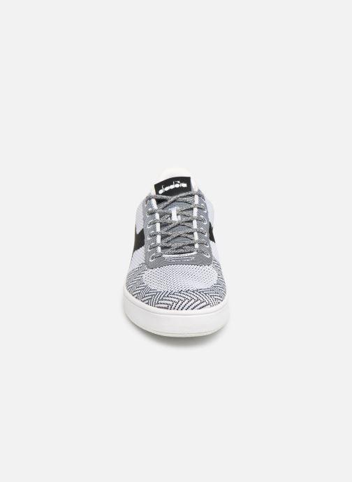 Baskets Diadora B.Elite Weave Blanc vue portées chaussures