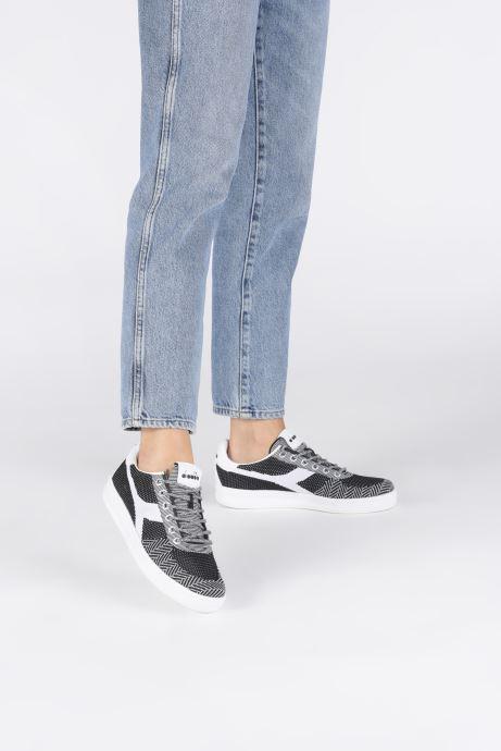 Sneakers Diadora B.Elite Weave W Svart bild från under