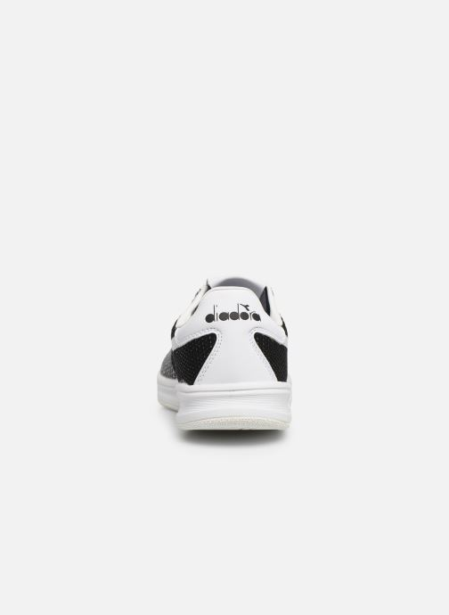 Sneakers Diadora B.Elite Weave W Svart Bild från höger sidan