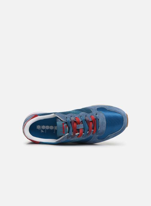 Baskets Diadora Camaro Premium Bleu vue gauche