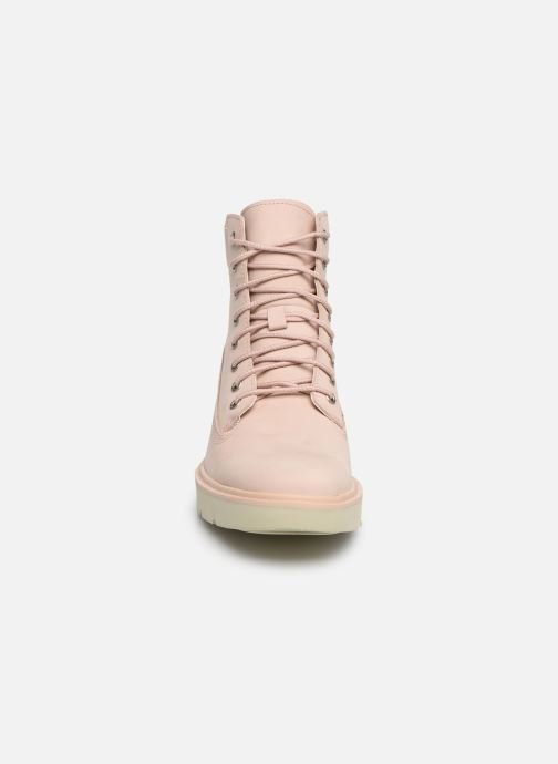 Bottines et boots Timberland Kenniston 6in Lace Up Boot Rose vue portées chaussures