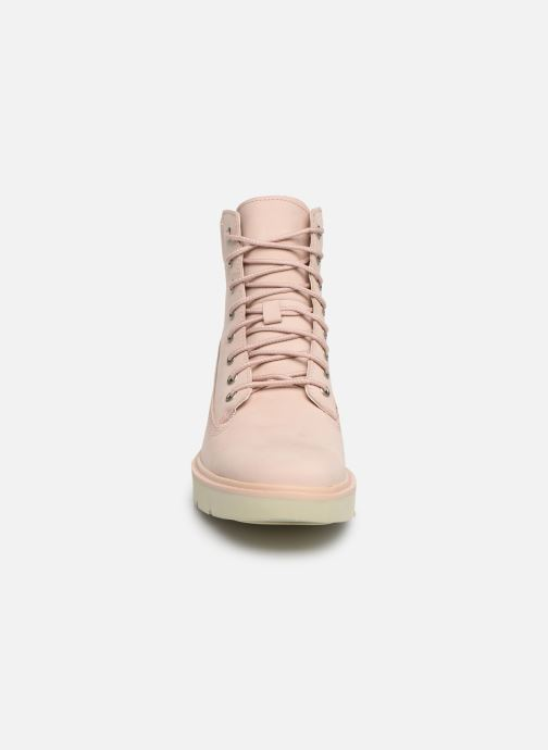 Botines  Timberland Kenniston 6in Lace Up Boot Rosa vista del modelo