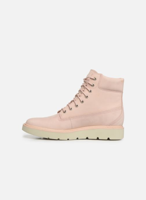 Botines  Timberland Kenniston 6in Lace Up Boot Rosa vista de frente