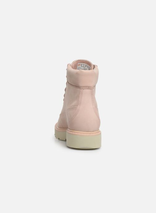 Botines  Timberland Kenniston 6in Lace Up Boot Rosa vista lateral derecha