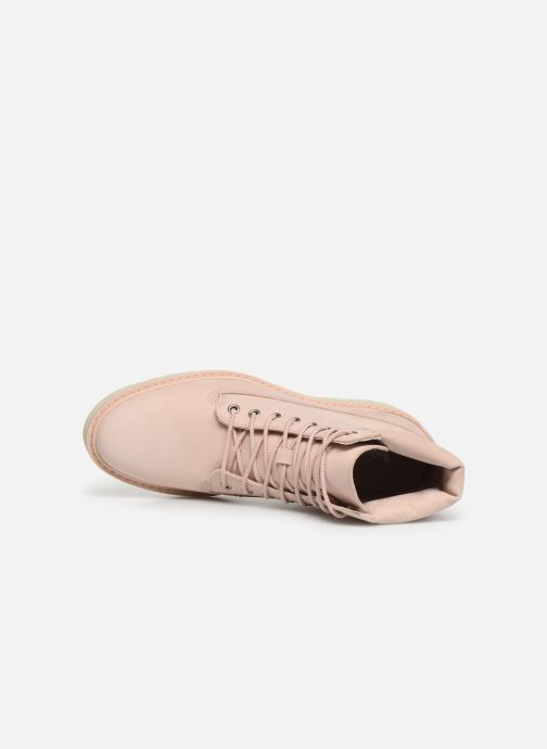 Ankle boots Timberland Kenniston 6in Lace Up Boot Pink view from the left
