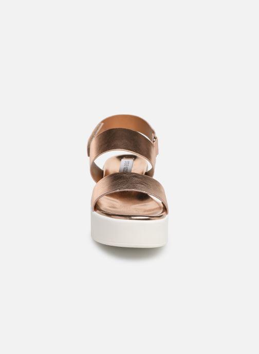 Sandales et nu-pieds Steve Madden Rachel Sandal Rose vue portées chaussures