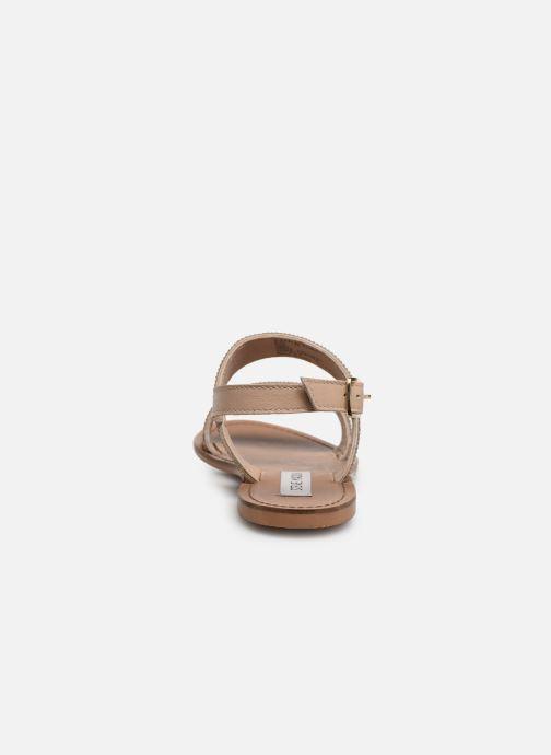 Sandales et nu-pieds Steve Madden Alea Sandal Or et bronze vue droite