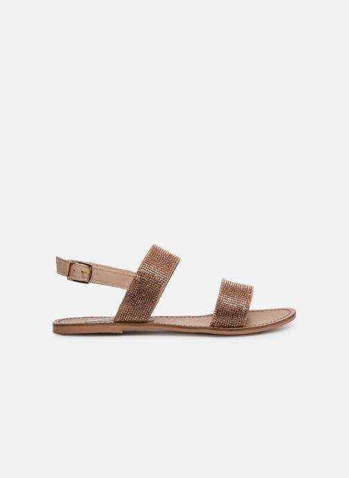 Sandales et nu-pieds Steve Madden Alea Sandal Or et bronze vue derrière