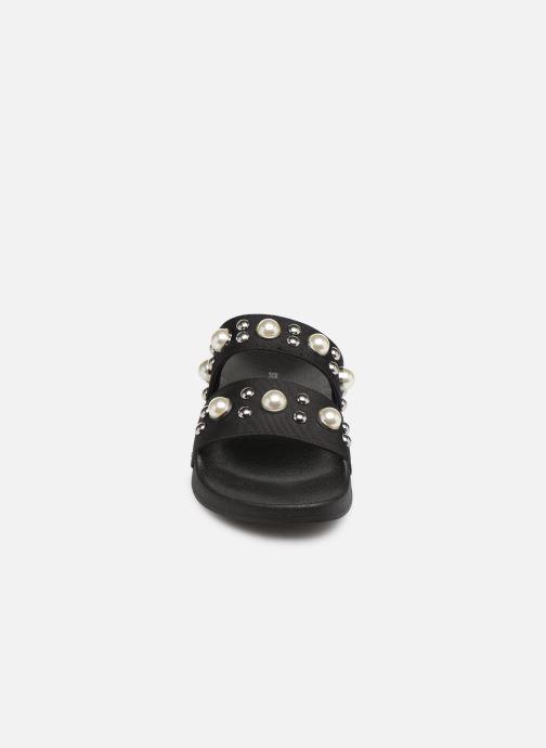 Mules et sabots Steve Madden Polite Sandal Noir vue portées chaussures