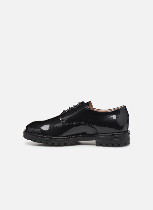 Zapatos con cordones Acebo's 9778AC Negro vista de frente