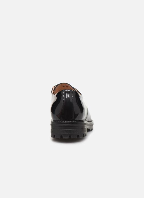 Zapatos con cordones Acebo's 9778AC Negro vista lateral derecha