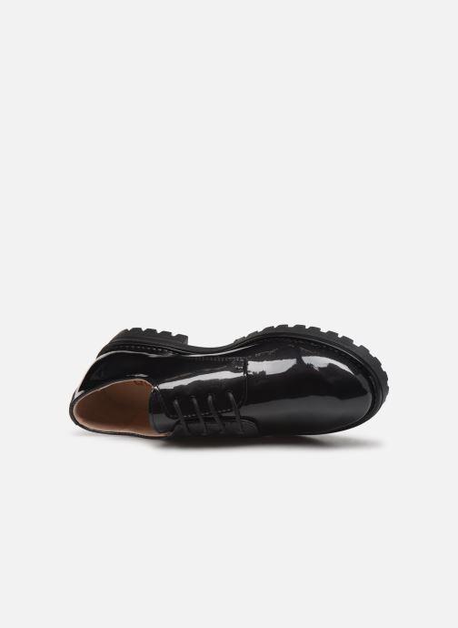 Zapatos con cordones Acebo's 9778AC Negro vista lateral izquierda