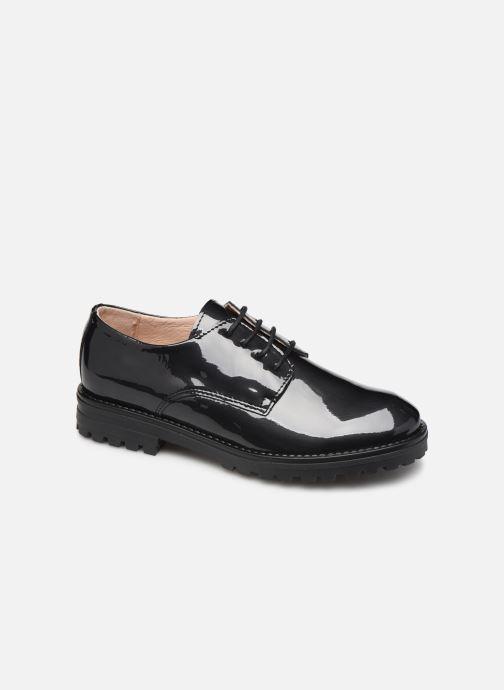 Snøresko Acebo's 9778AC Sort detaljeret billede af skoene